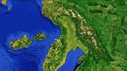 North West Tuscan Way Big Map 6 Google Earth