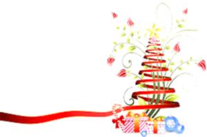 Sapin de Noël pour le bortsch de Noël
