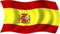 Drapeau espagnol pour la Paella valenciana originale