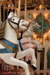 1900s wooden horses