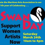 Martinez Arts Association's SWAN Day recognizes women artists