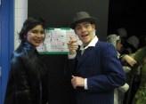 Julia Lloren, Henry Clarke as The Drowsy Chaperone and Feldzeig