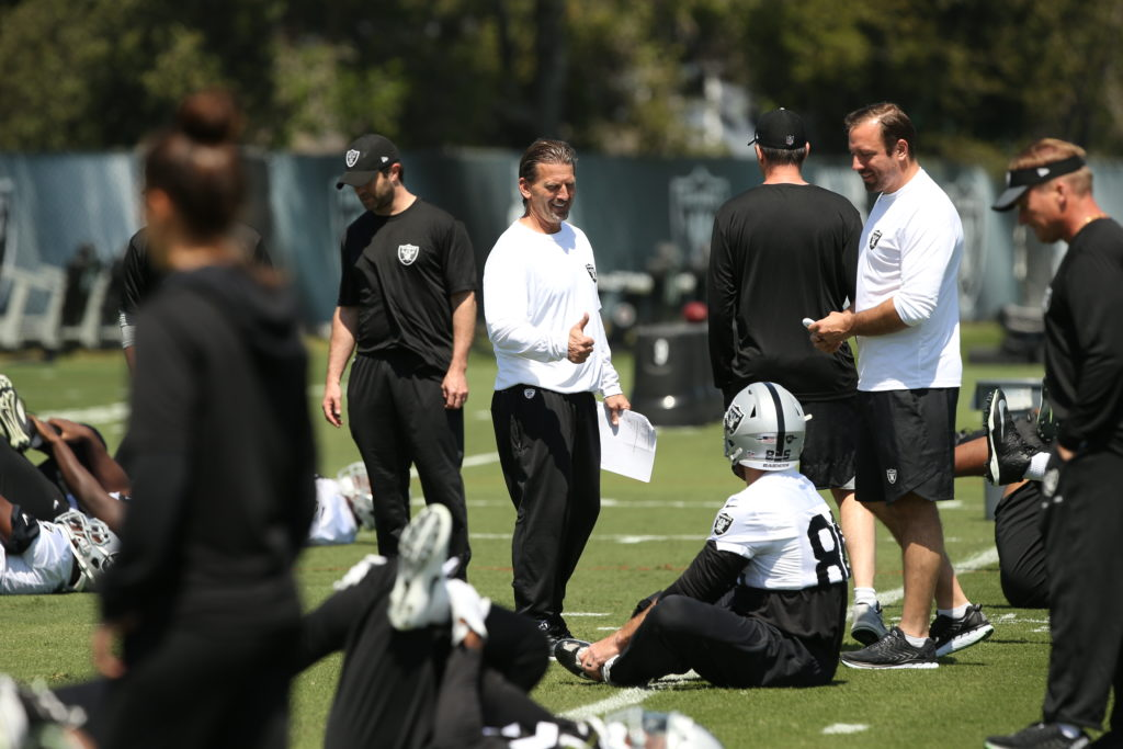 Thumbs up for OC Greg Olson