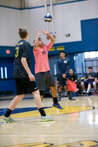 #16 Roshan Kumar Alhambra Boy's Volleyball vs Concord High School Photos by Mark Fierner Martinez News-Gazette