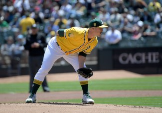 Oakland A's vs Houston Astros Pitcher Daniel Mengden Photos by Gerome Wright Martinez News-Gazette