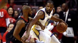 Houston struggled containing Kevin Durant