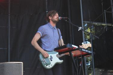 BottleRock ?Mondo CozMo brought out the sunshine on Sunday on the Samsung Midway Stage Photo by Stephen Langsam