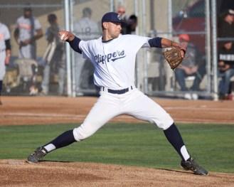 Clipper starting pitcher Matti Doxter.