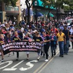 Martinez salutes America with parade, fireworks