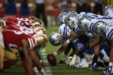 San Francisco 49ers vs Cowboys Photos by Tod Fierner ( Martinez News-Gazette )