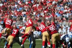 San Francisco 49ers vs Detroit Lions Photos by Tod Fierner (Martinez News-Gazette)