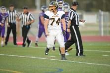 Alhambra Bulldogs vs College Park Falcons #74 John Kelly Photos by Tod Fierner ( Martinez News-Gazette )