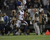 Oakland Raiders vs Los Angeles Rams Monday Night Football Photos by Gerome Wright ( Martinez News-Gazette )