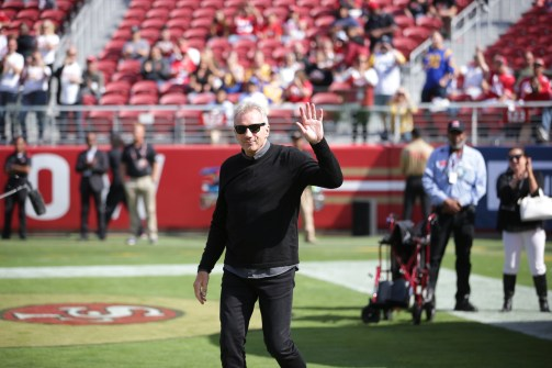 San Francisco 49ers vs Los Angeles Rams Joe Montana Photos by Tod Fierner (Martinez News-Gazette)