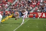 San Francisco 49ers vs Los Angeles Rams Rams Block Punt Photos by Tod Fierner (Martinez News-Gazette)