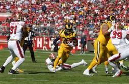 San Francisco 49ers vs Los Angeles Rams #30 R.B. Todd Gurley ll Photos by Tod Fierner (Martinez News-Gazette)