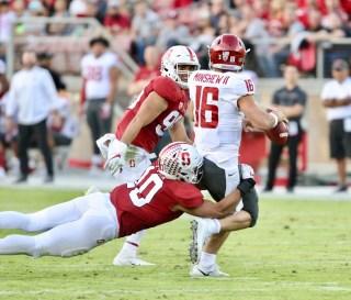 Stanford Cardinal vs Washington State Photos by Guri Dhaliwal (Martinez News-Gazette)
