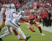 Oakland Raiders vs San Francisco 49ers Photos by Gerome Wright (Martinez News-Gazette)