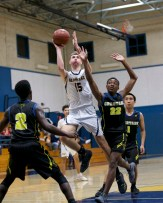 Alhambra Boy's basketball vs Pinole Valley Photos by Mark Fierner (Martinez News-Gazette)