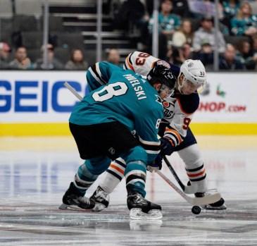 San Jose Sharks vs Edmonton Oilers Photos by Guri Dhaliwal (Martinez News-Gazette)