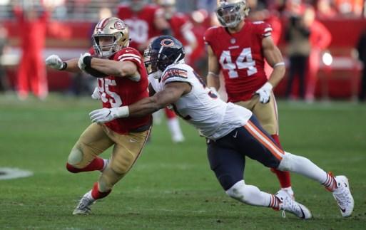 San Francisco 49ers vs Chicago Bears Photos by Tod Fierner (Martinez News-Gazette)