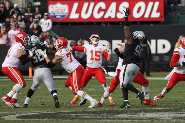 Oakland Raiders vs Kansas City Chiefs Photos by Tod Fierner (Martinez News-Gazette)