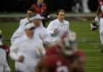 2019 NCAA National Championship Game Clemson Tigers vs Alabama Crimson Tide Bama Coach Nick Saban Photos by Gerome Wright