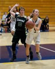 Alhambra Girls Basketball vs Concord Minutemen.