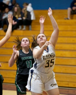 Alhambra Girls Basketball vs Sonoma Valley Dragons Photos by Mark Fierner (Martinez News-Gazette)