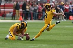 Los Angeles Rams vs New England Patriots #4 PK Greg Zuerlein Photos by Tod Fierner (MTZ Gazette)