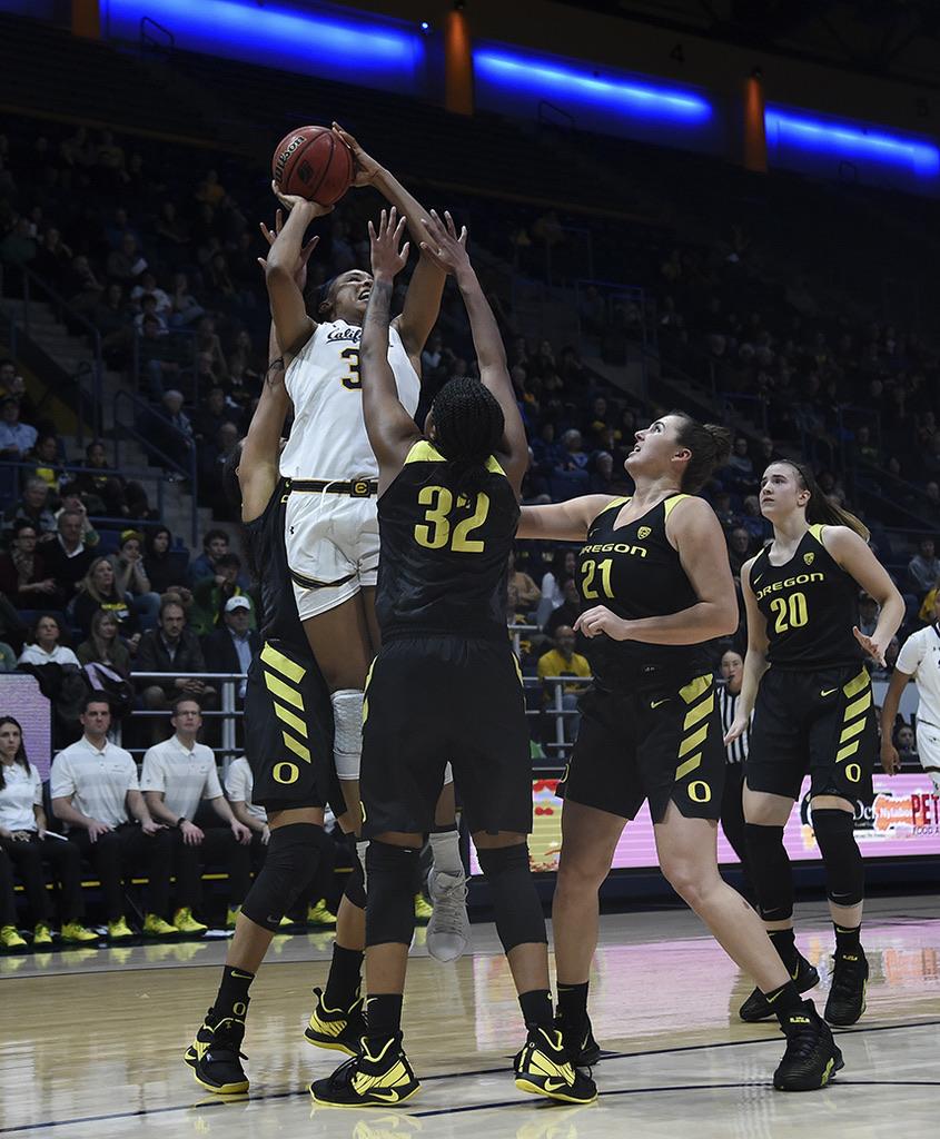 Cal Woman's Basketball vs Oregon DucksPhotos by Gerome Wright