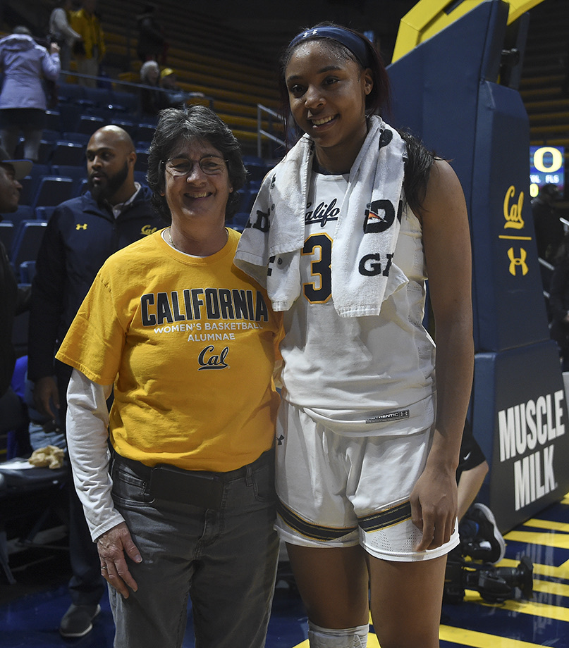 Cal Woman's Basketball vs Oregon Ducks