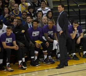 Warriors vs Lakers Photos by Gerome Wright (Martinez News-Gazette)