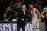 Saint Mary's Gaels vs USF Dons Head Coach Randy Bennett #11 Jordan Ford Photos by Tod Fierner Saint Mary's Photographer (Martinez News-Gazette)