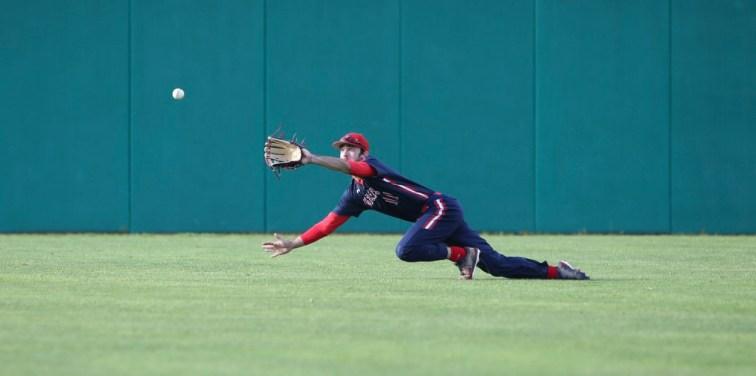 Saint Mary's Baseball vs Washington State #11 OF Ryan Novis Photos by Tod Fierner Martinez News-Gazette