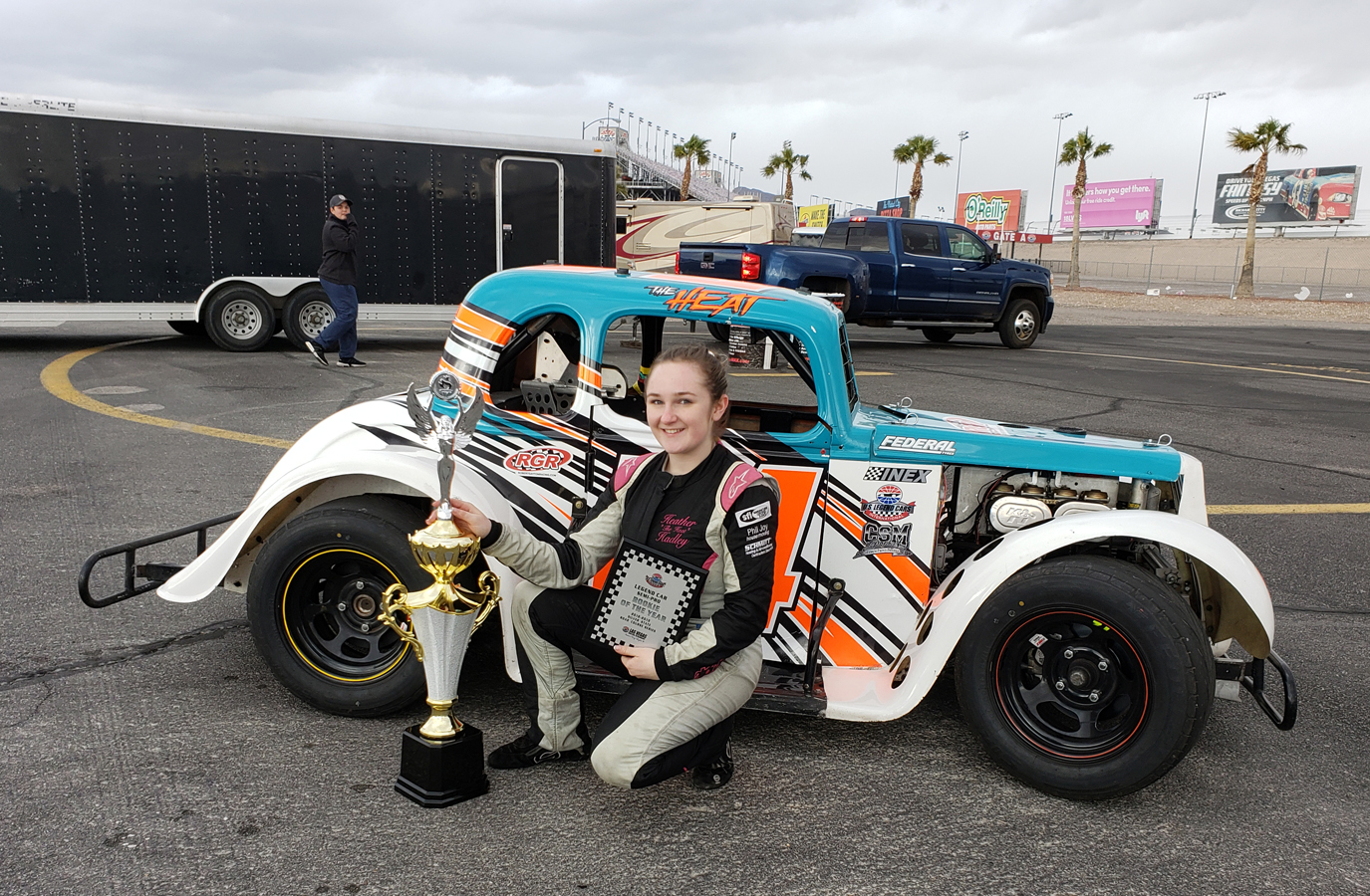 Vallejo native Heather Hadley captures Legends Championship
