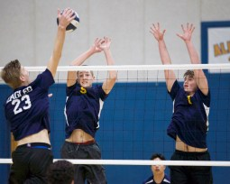 Alhambra Boy's Volley vs Berean Christian Photos by Mark Fierner (Martinez News-Gazette)