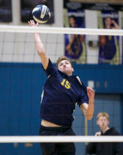 Alhambra Boy's Volleyball vs Las Lomas Photos by Mark Fierner (Martinez News-Gazette)
