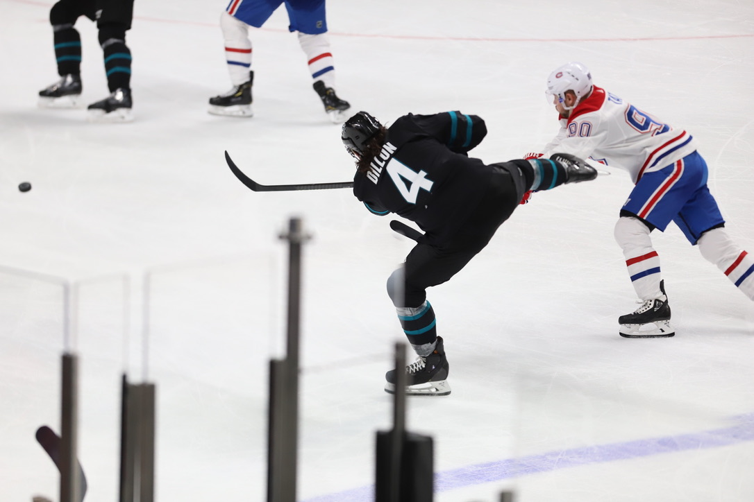 Sharks vs Montreal Canadiens
