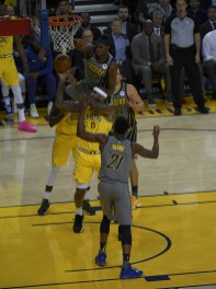Golden State Warriors vs Indiana Pacers 112-89 Warriors