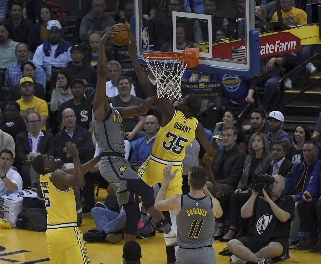 Golden State Warriors Beat Indiana Pacers 112-89 ...