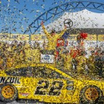Logano finally wins in Las Vegas
