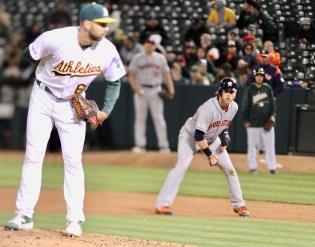 Oakland A's vs Houston Astros Photos by Guri Dhaliwal (Martinez News-Gazette)