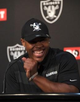 Oakland Raiders First Round Draft Picks Photos by Gerome Wright (Martinez News-Gazette)