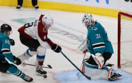 San Jose Sharks vs Colorado Avalanche Game Five. NHL Playoffs Photos by Guri Dhaliwal (Martinez News-Gazette)