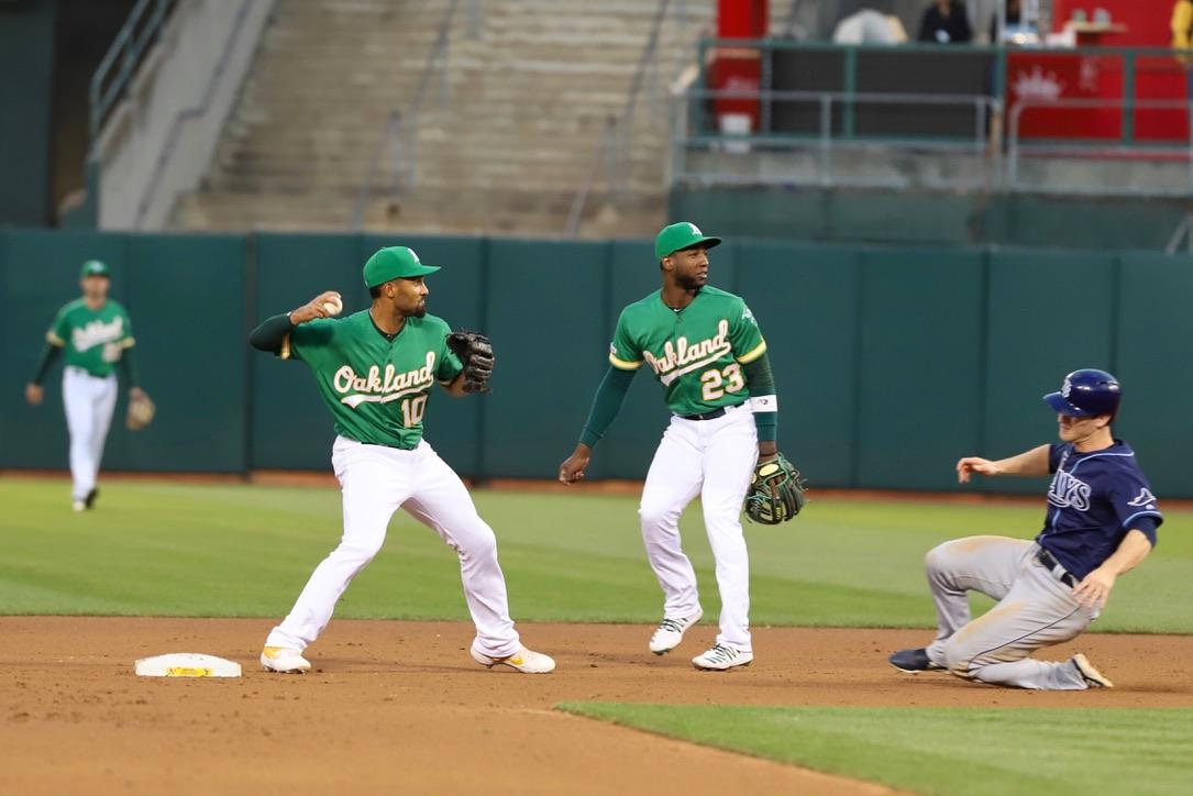 Oakland A's vs Tampa Bay RaysPhotos by Guri DhaliwalMartinez News-Gazette