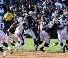 Oakland Raider vs Los Angeles Rams #7 QB Mike Glennon