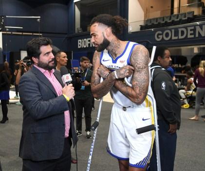 Golden State Warriors Media Day