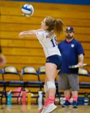 Alhambra Girls Volleyball vs Miramonte Photos by Mark Fierner ( Martinez News-Gazette )