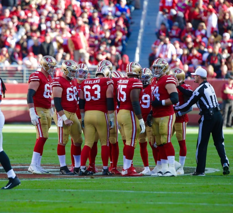 San Francisco 49ers Photo by Tod Fierner (Martinez News-Gazette)